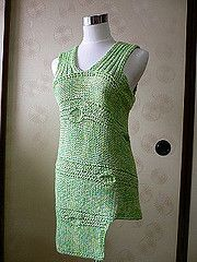 Ravelry: Roundabout Leaf Tank pattern by Norah Gaughan