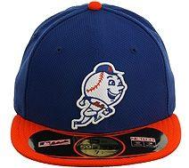 13516601d27 New Era Diamond Era New York Mets Fitted Hat - Royal