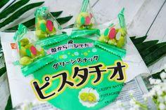 green snack pistachio, top snacks in japan
