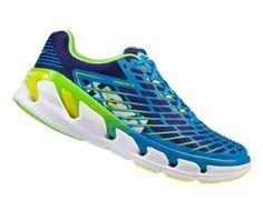 HOKA ONE ONE Men's Vanquish 3 Road-Running Shoes Blue Aster/Blueprint 11