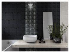 No 762 Black textured wall tiles  Find us at www.bernardarnull.co.uk or e.mail Bernard.arnull@easynet.co.uk