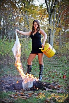 Once upon a time she wore it as a bride. Now it's just good kindling for a fire…