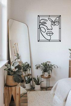 Room Ideas Bedroom, Home Decor Bedroom, Nature Bedroom, Earthy Bedroom, Nature Home Decor, Bedroom With Plants, Bedroom Inspo, Earthy Home Decor, Silver Bedroom