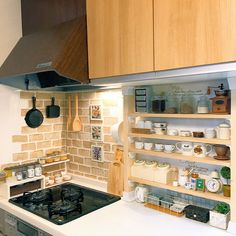 27 Trendy Ideas For Kitchen Ikea Ideas Diy Diy Kitchen, Kitchen Interior, Kitchen Storage, Kitchen Decor, Japanese Apartment, Japanese Kitchen, Home Room Design, Apartment Interior, Home Kitchens