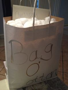my cotton themed gift basket for the husband a clean cotton