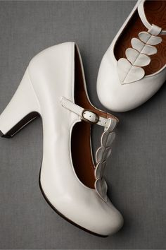 adorable heart t-strap shoes