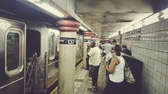 Stuck at 137th street station #nyc #vsco #summer