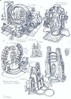 ArtStation - env obj 1, Vasily Khazykov