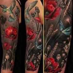 hummingbird tattoo | Tumblr