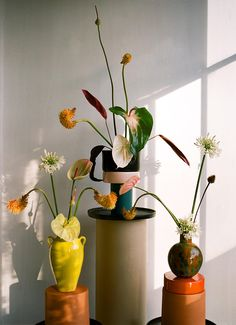 In the floral artist Matagalan's feed, artfully balanced ceramic totems and ikebana-inspired botanicals make for an enviably satisfying scroll.