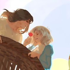 you'll float too 🎈#howlsmovingcastle #wip #ghibli #awanqi #digitalpainting #illustration #howlandsophie #studioghibli Howl's Moving Castle, Studio Ghibli Art, Studio Ghibli Movies, Howl Pendragon, Anime Manga, Anime Art, Howl And Sophie, Hayao Miyazaki, Animation Film