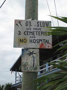 A sign in Caye Caulker, Belize. Caye Caulker is a small limestone coral island off the coast of Belize in the Caribbean Sea measuring about 5 miles by less than 1 mile. The town on the island is Caye Caulker Village. Honduras, The Places Youll Go, Places To Go, Costa Rica, San Pedro Belize, Funny Headlines, Caye Caulker, Belize Travel, Lol