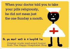 See more religious medical humor...