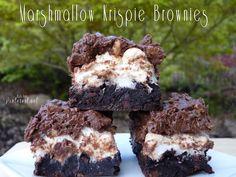 Marshmallow Krispie Brownies