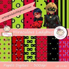 Miraculous as Aventuras de Ladybug e Cat Noir, kit digital para imprimir, gratuito, artes digitais para festa de aniversário.