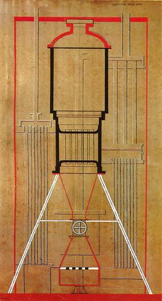 Francis Picabia, A Machine Without Name, 1915