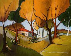 Itzchak tarkay - Serigraphs on Canvas Gallery at artist-portfolio.net