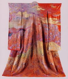 """""""Landscape Kimonos by Itchiku Kubota"""" at the Smithsonian Natural History Museum, is the most stunning, amazing textile art. Mr. Kubota is (or more likely at this point in time, was) one of Japan's Living National Treasures for reviving and expanding on a particular ancient tie-dyeing technique."""