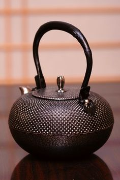 Nanbu Tetsubin (Japanese Cast Iron Kettle)- Kunzan : HOJO TEA
