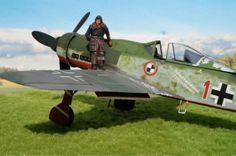 "Fw 190D-9, JV 44, ""Red 1"" (1/32 Hasegawa)"