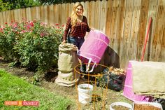 "SET YOUR DVR'S FOR THURSDAY! ""DIY Protective Rose Covers!"" Shirley Bovshow shows you how to make protective rose covers for the upcoming cold season using repurposed materials. Watch the Home & Family show on the Hallmark channel at 10am pst."