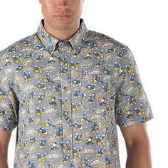 Disney Buttondown Shirt from Vans -Donald Duck Disney Vans, Disney Outfits, Boy Outfits, Disney Clothes, Disney Fashion, Donald Duck Shirt, Vans Shop, Colourful Outfits, Disney Style