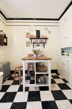 Cute Brooklyn kitchen