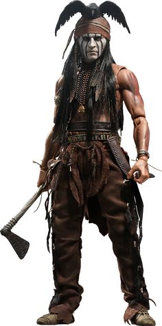 Johnny Depp as Jay Silverheels Or Tonto in The Lone Ranger On Sale Now Just…