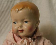 Антикварная кукла -СССР-1950г