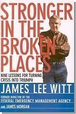 STRONGER IN THE BROKEN PLACES  JAMES LEE  WITT  LIBRO EN INGLES  SIGMARLIBROS