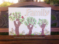 Make your own Family Print www.http://moments-shop.de http://de.dawanda.com/shop/moments-kreativatelier