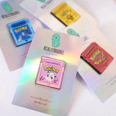 Pokemon Fantasy Cartridges Jigglypuff Pink by reallybigdillshop