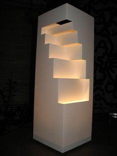 DIY Lamps DIY Geometric Cut Paper Table Lamp DIY Lamps