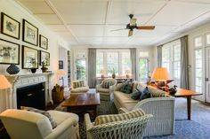 Living Room ~ Peter Marino architect Renovation ~  East Hampton, NY 11937 is For Sale - Zillow