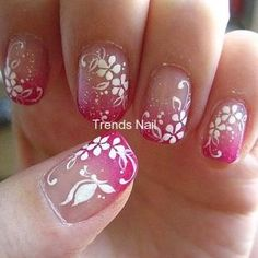 Generally, people thought nail art can be possible on long nails But actually, it's not so! Simple nail art designs for short nails are not only popular Flower Nail Designs, Simple Nail Art Designs, Nail Designs Spring, Easy Nail Art, Fingernail Designs, Toe Nail Designs, Acrylic Nail Designs, Nails Design, Butterfly Nail Art