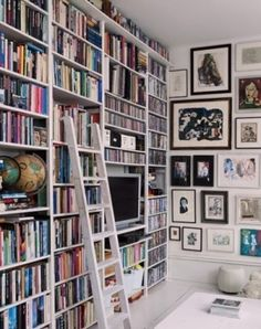bookcases & wall gallery