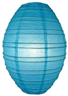 """Turquoise Kawaii Paper Lantern by Asian Import Store, Inc.. $3.90. Dimensions: 10"""" dia x 14"""". (All lanterns sold without lighting, lighting kits must be purchased separately). This Kawaii paper lantern has a unique oval egg shape and held open with a """"C"""" hook expander.. This Kawaii paper lantern has a unique oval egg shape. Lantern is held open with a """"C"""" hook expander  Dimensions: 10"""" dia x 14""""  (All lanterns sold without lighting, lighting kits must be purchased separately)"""