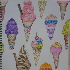 Ice cream anyone?   Book : The Four Season Illustrator: Aiko Fukawa