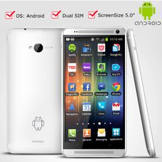 New 5 Inch Touch Screen Dual SIM Android Mobile Phone Smartphone