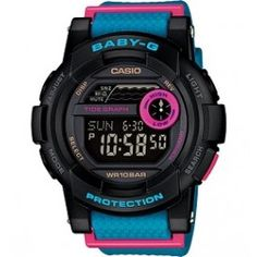 The retro CASIO G-SHOCK BABY-G range, reimagined. Offers sleek sophistication & shock-proof durability for the active woman - Discover your BABY-G now. Casio Protrek, G Watch, Casio Watch, Radio Controlled Watches, Casio G Shock, Sport Watches, Nice Watches, Women's Watches, Digital Watch