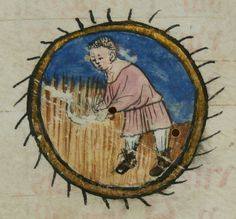 Enluminure du Missel de Langres (XVe siècle) (Bibliothèque municipale Gaston-Chaissac, Avallon)