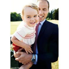 Prince William and Princess Kate released this charming photo of Prince George ahead of his second birthday.