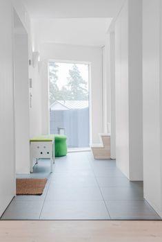 Villa Blåbär - Picture gallery Minimalist Interior, Entrance, Living Spaces, Villa, New Homes, House Design, Flooring, Interior Design, Architecture