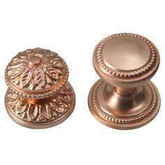 Satin Copper Cabinet U0026 Drawer Knobs ...
