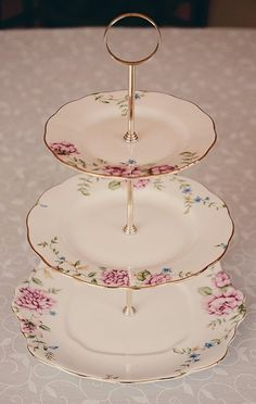 Google Image Result for //vintageteakent.files.wordpress.com/ & Three tier plate stand | Cookie and cake servers | Pinterest | Plate ...