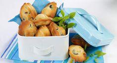 Madeleines aux olivesVoir la recette des Madeleines aux olives >>