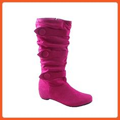 Blancho Shaft Cold Weather Boot FUCHSIA US8.5 - Outdoor shoes for women (*Amazon Partner-Link)