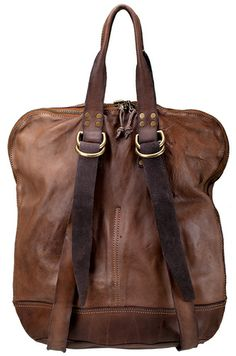 the simplicity of a tote and the utility of a rucksack