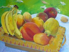 """""""Maui Mix Fruit""""  (available at the Village Gallery in Lahaina, Maui)"""