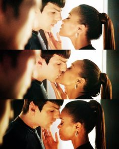 Spock and Uhura - the quiet, deep, fierce and steady kind of love.